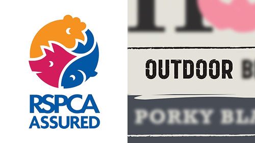 RSPCA Assured + Outdoor Bred/Reared
